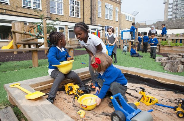 Welcome To Bevington Primary School Eyfs Playground